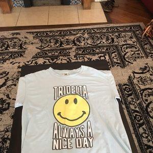 tri-delta sorority shirt